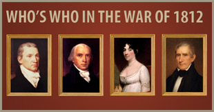 who's who in 1812